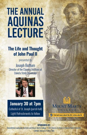 Aquinas Lecture Series Poster Image