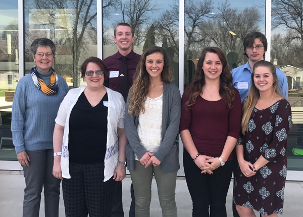 Mount Marty College Math Majors at Mathematics on Northern Plains Conference 2017