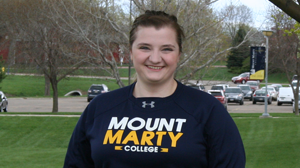 Mount Marty College 2017-18 Mother Jerome Scholar Morgan Citterman